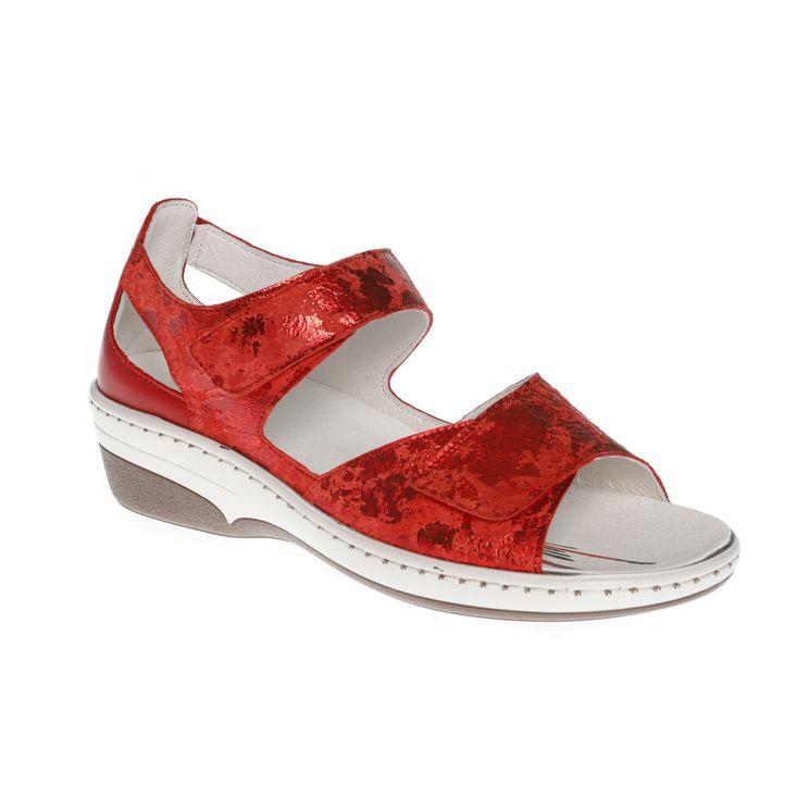 Sandale Adour AD 2309  Rouge